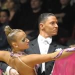 Danze standard Gianni e Eleonora Scandiffio protagonisti di Paso Doble una vita per il ballo real time