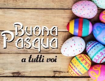 Buona Pasqua a tutti voi