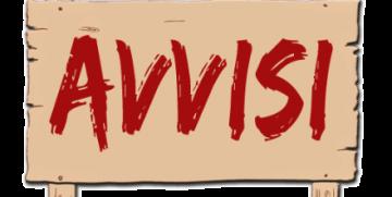 AVVISO AI TESSERATI