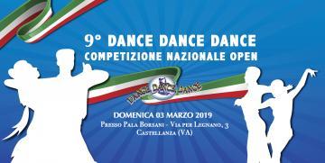 ISCRIZIONI DI GARA ON-LINE APERTE 9° DANCE DANCE DANCE