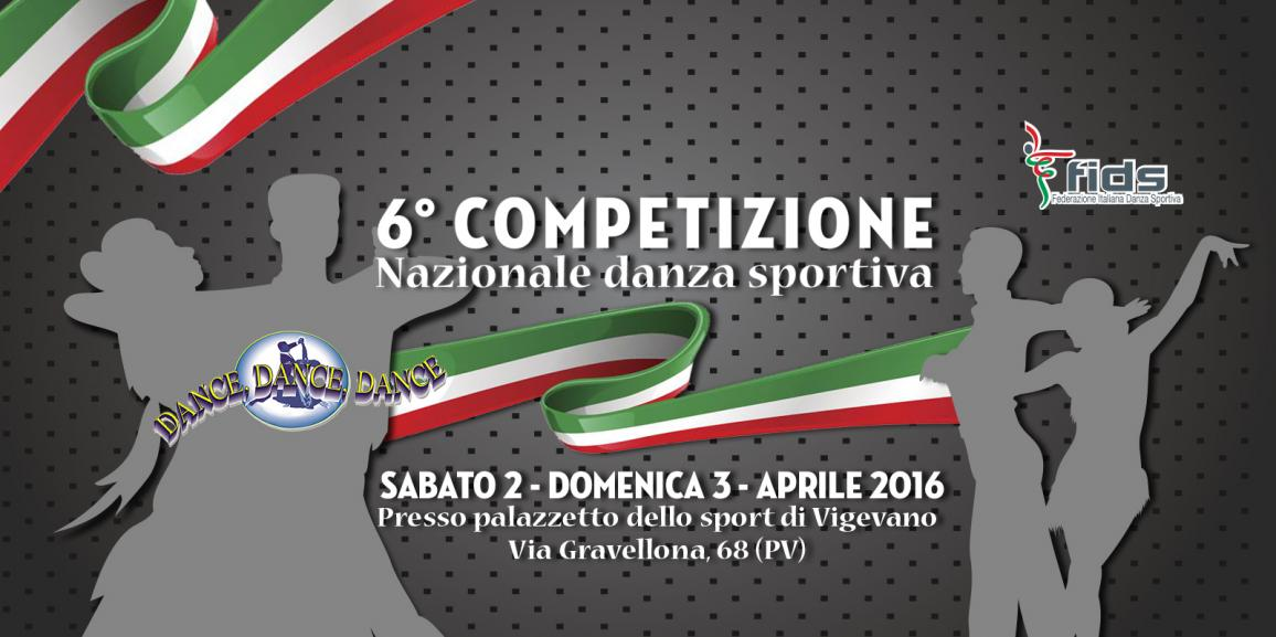 6° Trofeo Dance Dance Dance 2 – 3 Aprile 2016 Vigevano (PV)