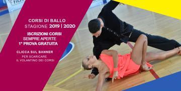 NOVITA' CORSI DI BALLO DANCE DANCE DANCE 2019/2020