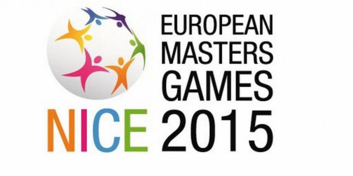 European Masters Games Nice 2015 – Complimenti ai competitori Salvatore e Luisa
